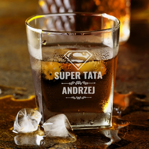 Szklanka Do Whisky Super Tata