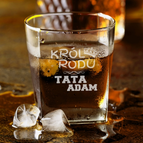 Szklanka Do Whisky Król Rodu