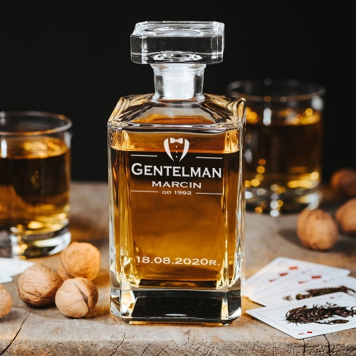 Karafka Do Whisky Gentleman