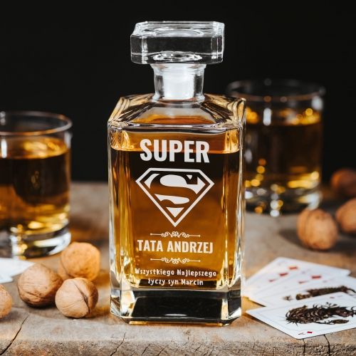 Karafka Do Whisky Super Tata